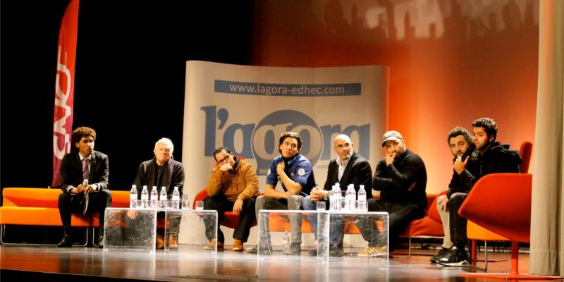 L'Agora fait son cinéma - avec l'équipe du film La Marche