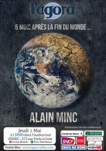 L'Agora reçoit Alain Minc