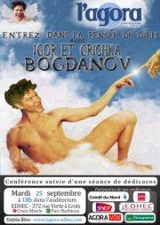 L'Agora reçoit Igor et Grichka Bogdanov