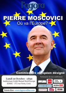 L'Agora reçoit Pierre Moscovici
